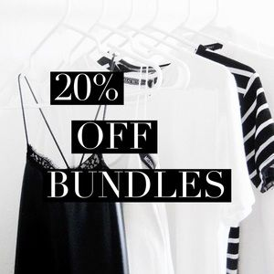 Other - ❕20% off and up all bundles❕